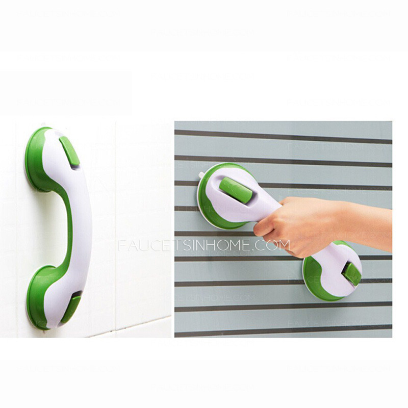 First Bathroom Tub Suction Cup Grab Bar