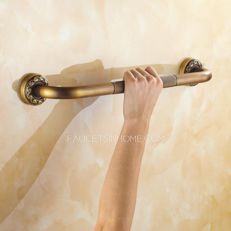 Antique Bronze Safety First Bathroom Tub Grab Bar