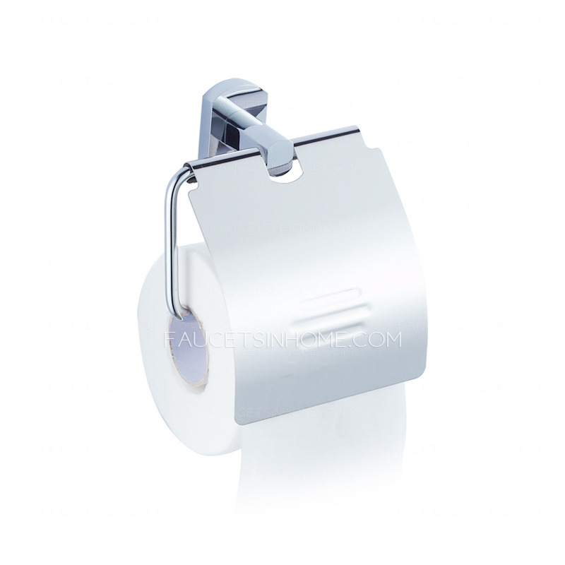 Metal Wall Mounted Roll Bathroom Toilet Paper Holders