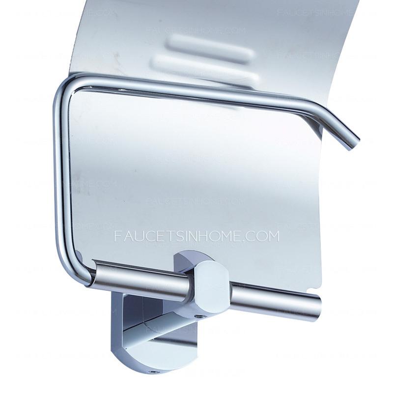 Metal Wall Mounted Roll Bathroom Toilet Paper Holders