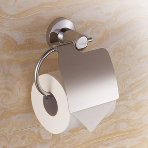 Stainless Steel Chrome Toilet Paper Roll Holder For Bathroom