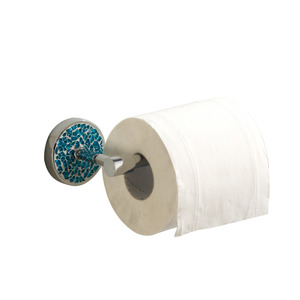 Blue Bathroom Toilet Paper Roll Holders Wall Mount