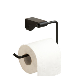 Black Stainless Steel Wall Mount Toilet Paper Roll Holders