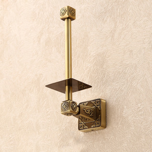 Decorative Vintage Antique Bronze Bathroom Toilet Roll Holders