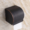 Vintage Oil Rubbed Bronze Bathroom Toilet Paper Holders