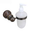 Antique Marble Glass Bottle Soap Dispensers Wall Mount