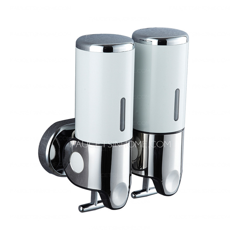 commercial stainless steel double wall soap dispensers