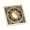 Custom Shower Antique Brass Bathroom Floor Drains