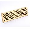 Modern Lengthening 30cm Brass Rectangular Shower Drains