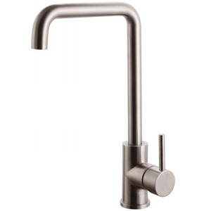Best Stainless Steel Seven Shaped Kitchen Faucet Nickel Brushed