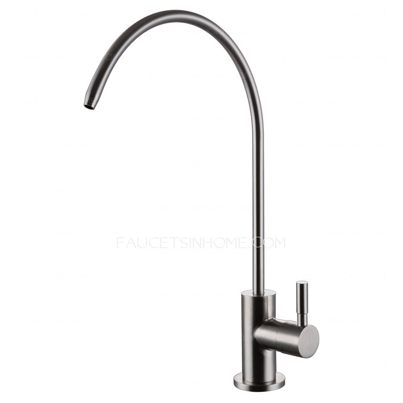 Inexpensive Cold Water Purifier Stainless Steel Kitchen Faucets. Stainless Steel Water Filter Faucet. Home Design Ideas