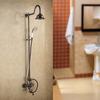Unique Oil Rubbed Bronze Rotatable Top Shower Faucet System