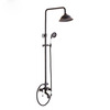 Quality Brass Ceramic Oil Rubbed Bronze Shower Faucets System