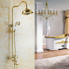 Top Rated Brass Elevating Ceramic Shower Faucet System