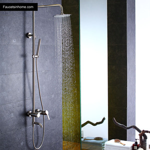 Designer Stainless Steel Outdoor Shower Heads And Faucets