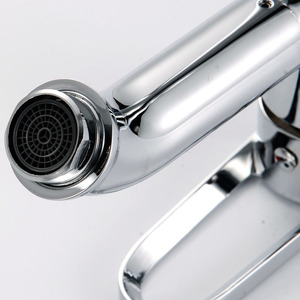 Modern Brass Single Handle Bathroom Faucet Under 150