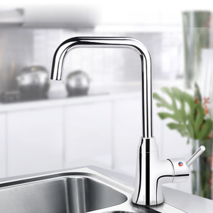 Top Rated Brass Single Handle Kitchen Faucet Rotatable
