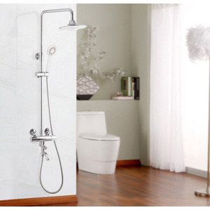 Classical Brass Thermostatic Music Shower Faucet System