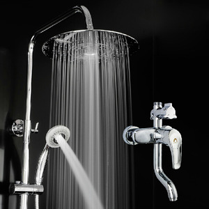 New Arrival Brass Pressurization Outdoor Shower Faucets System