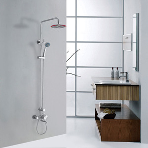 Quality Brass Elevating Exposed Shower Heads And Faucets