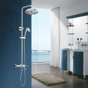 Luxury Oxygen Brass Outdoor Rain Shower Tub Faucets