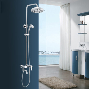 Modern Brass Oxygen Exposed Bathroom Shower Faucets