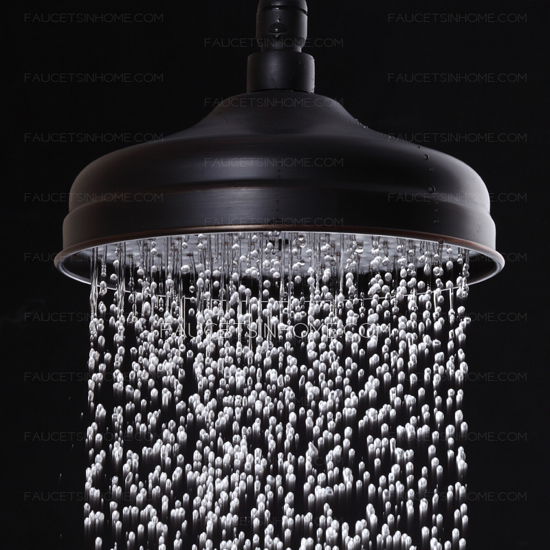 Fashionable Oil Rubbed Bronze Exposed Bathroom Shower Faucets
