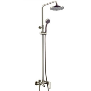 Quality Brushed Nickel Brass ELevating Bathroom Shower Faucets