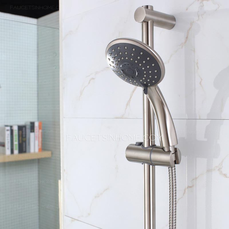 Modern Stainless Steel Exposed Shower And Bath Faucets