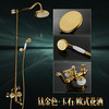 Luxury Brass Jade Outdoor Bathroom Shower Heads And Faucets