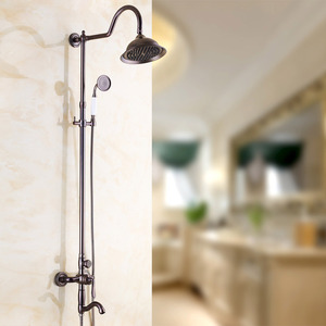 European Style Oil Rubbed Bronze Bathroom Outside Shower Faucets
