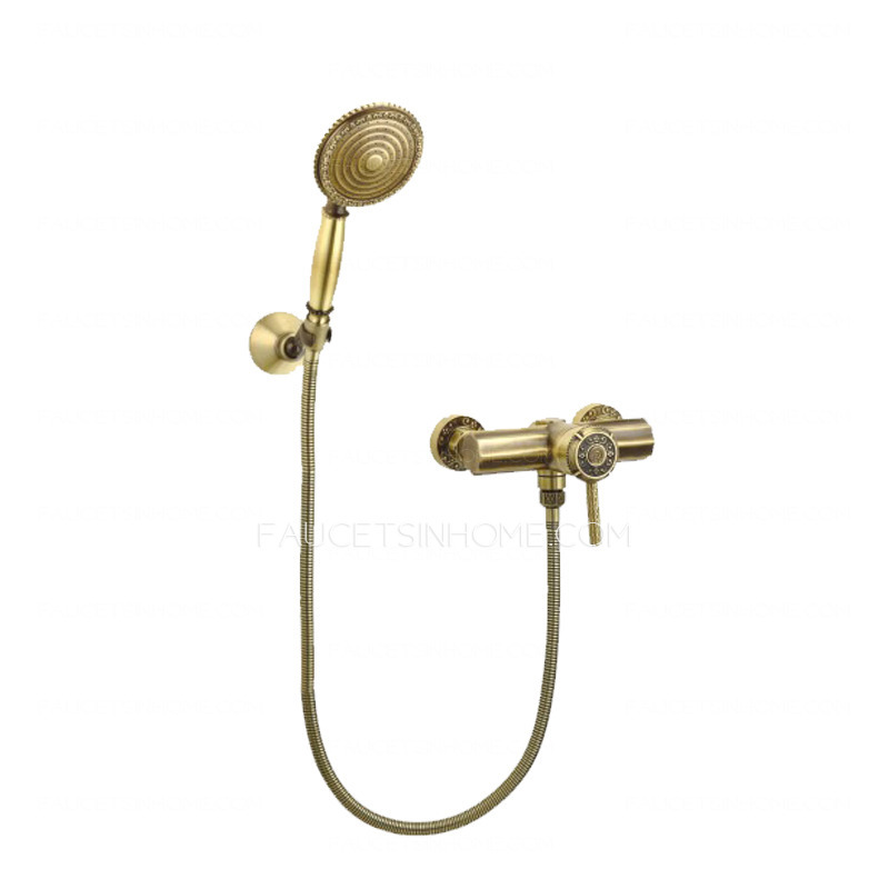 High End Antique Bronze Hand Held Shower Faucets