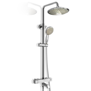 Advanced Waterfall Rain Thermostatic Bathroom Shower Faucets