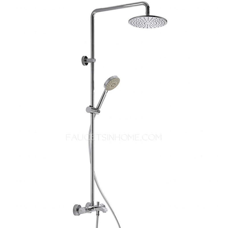 Quality Brass Bathroom Thermostatic Outdoor Shower Faucets