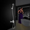 Simple Stainless Steel Tub Hand Shower Faucets Only