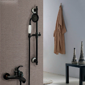 Simple Oil Rubbed Bronze Hand Held Shower Faucets System