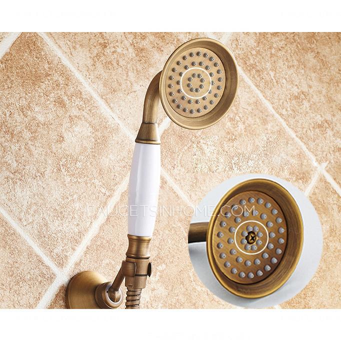 Pop Sale Antique Brass Bathroom Old Bath Shower Faucets