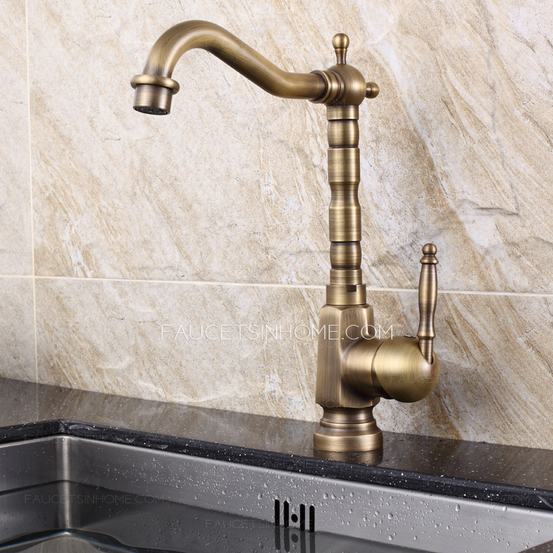 affordable brass rotate 360 degree old kitchen sink faucets - Brass Kitchen Sink