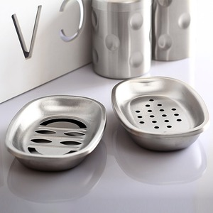 Cheap Stainless Steel Two-Sets Soap Dishes