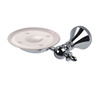 On Sale Chrome Wall Mount Ceramic Soap Dishes