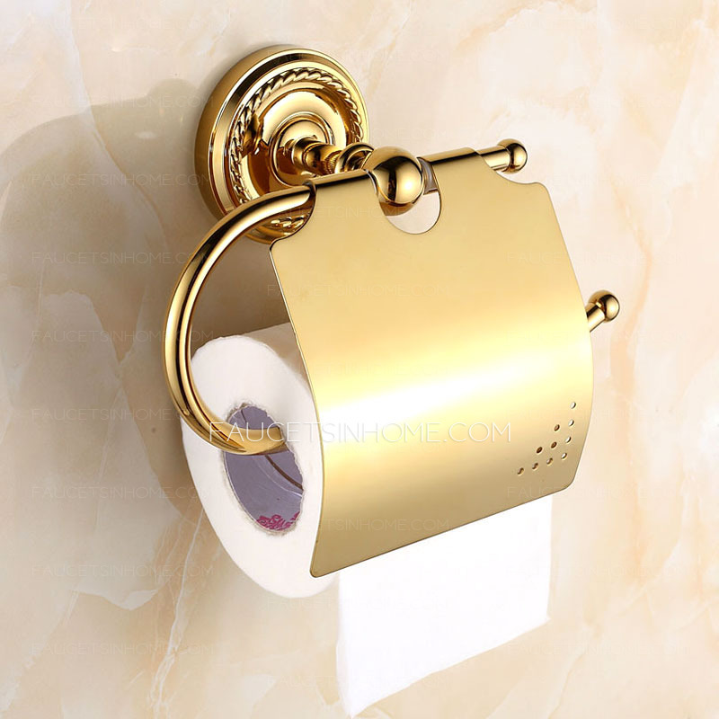 Luxury Bathroom Brass Toilet Paper Roll Holders