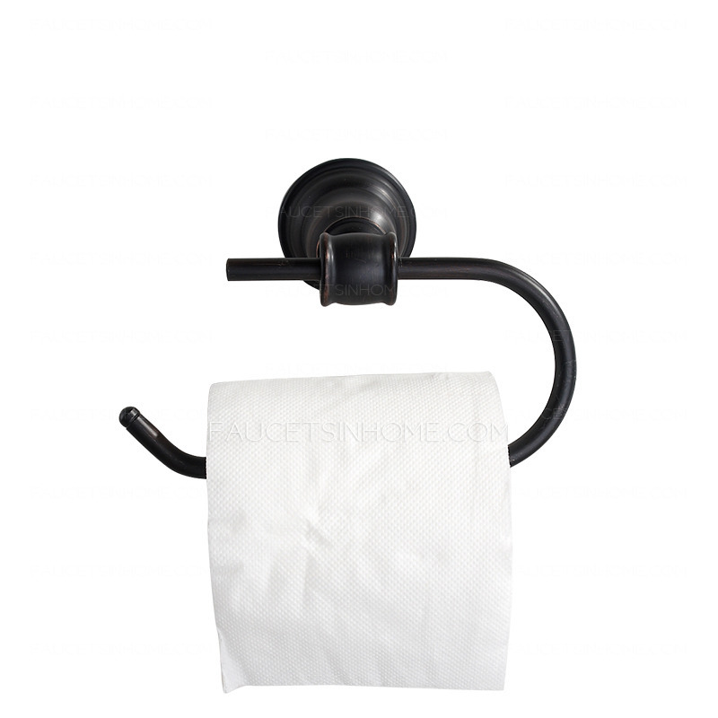 Antique oil rubbed bronze bathroom toilet paper roll holders - Toilet paper roll stand ...