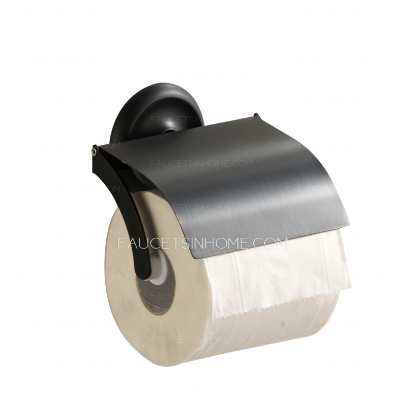 Decorative Bathroom Black Oil Rubbed Bronze Toilet Paper