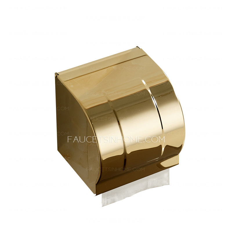 Gold toilet paper stand toilet paper holder in gold bed bath beyond - Gold toilet paper holder stand ...