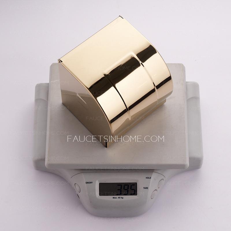 Luxury Gold Bathroom Brass Toilet Paper Holders