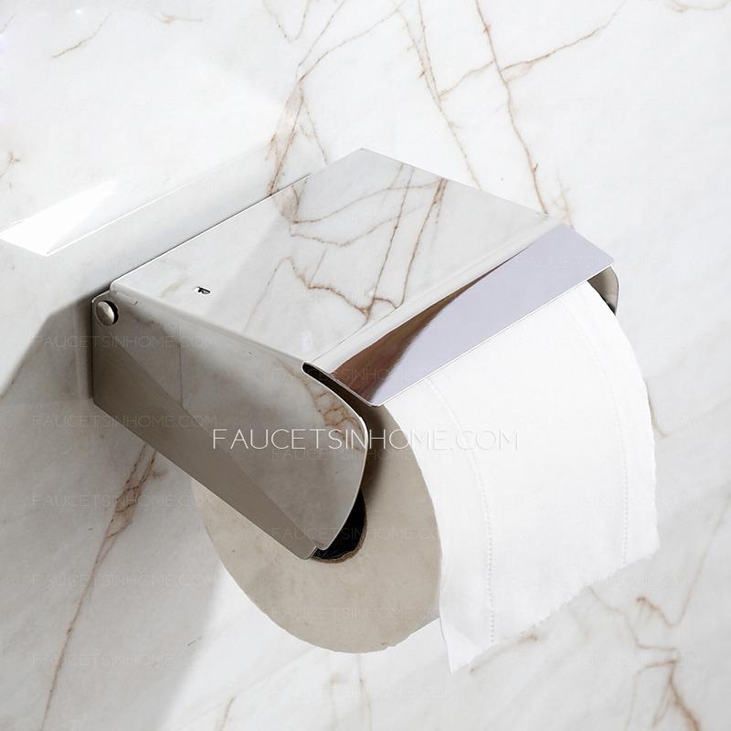 commercial stainless steel bathroom toilet paper holders