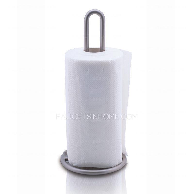 Modern Stainless Steel Freestanding Toilet Paper Roll Holders