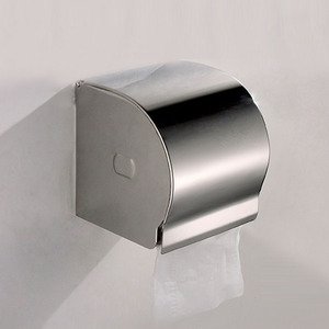 Modern Stainless Steel Metal Toilet Paper Holders