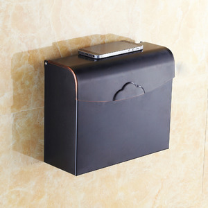 Vintage Black Oil Rubbed Bronze Toilet Paper Holders