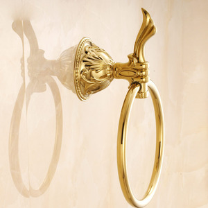 Best Designed Brass Gold Towel Rings